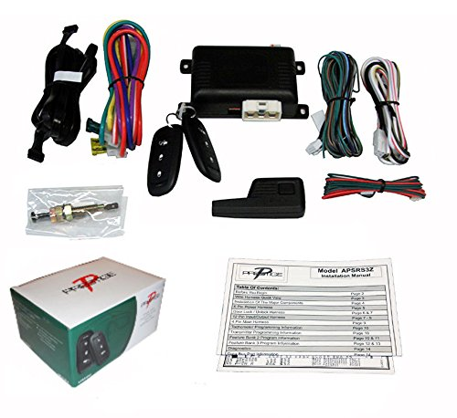 Prestige APSRS3Z 3-Button 2 Remote Start Auto Car Starter and Keyless Entry 1000