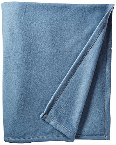 Martex Super Soft Fleece Blanket - Full/Queen, Warm, Lightweight, Pet-Friendly, Throw for Home Bed, Sofa & Dorm - Slate Blue