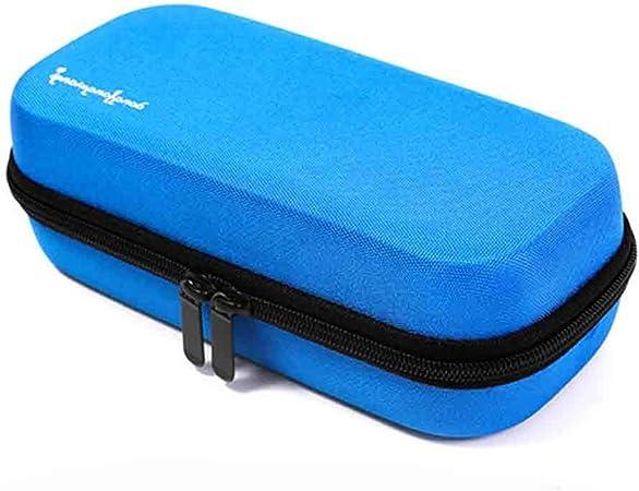 Estuche portátil para refrigerador de insulina - Medicamentos Bolsa de viaje de insulina Enfriador Caja de píldoras Pluma de insulina y suministros para diabéticos con paquete de hielo de 3 enfriad: Amazon.es: