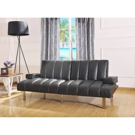 Mainstays Theater Futon, Black by Mainstay