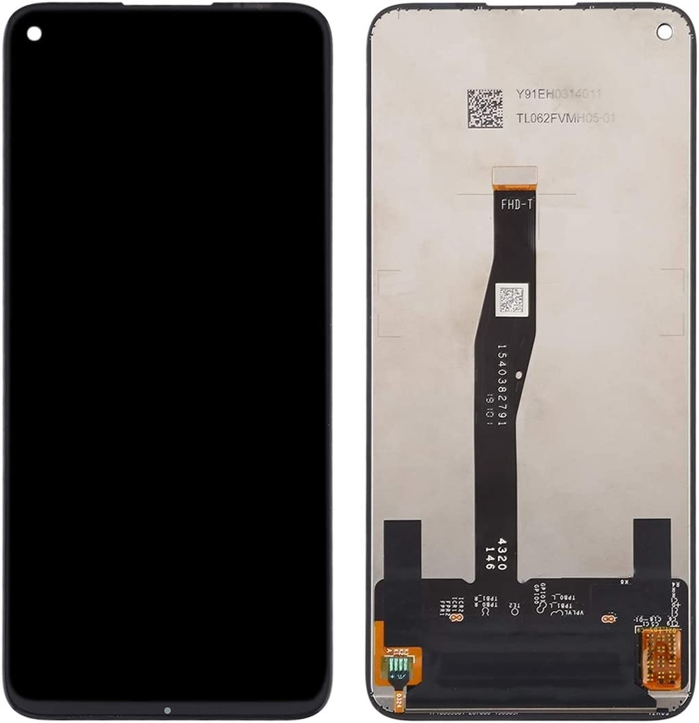 Color : Black LCD Screen Mobile Phone and Digitizer Full Assembly for Huawei Honor 20 Black