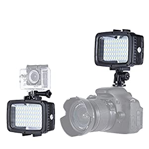 Andoer Ultra Bright 5500K 12W 1800LM 3 Mode Fill-in LED Diving Light