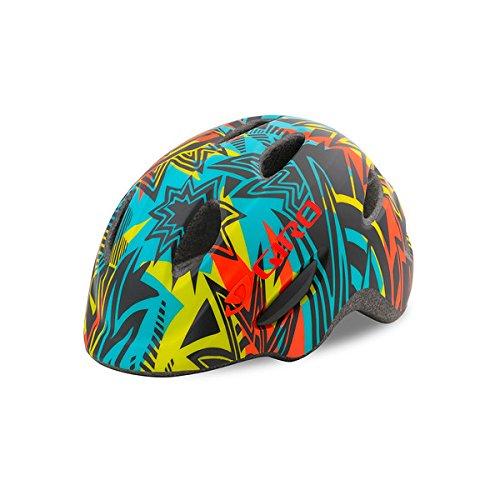 Matte Blast (Giro Scamp Youth Bike Helmet Matte Blast XS)