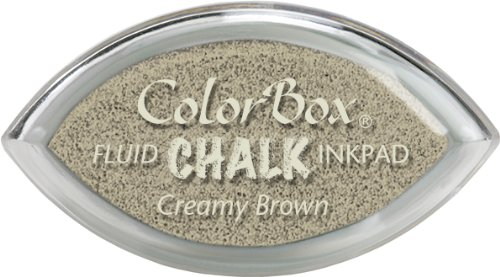 Clearsnap ColorBox Fluid Chalk Cat's Eye Inkpad, Creamy - Eyes With Cat People
