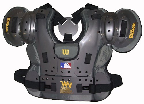 Wilson Pro Platinum Umpire Chest Protector (13 1/2-Inch) by Wilson