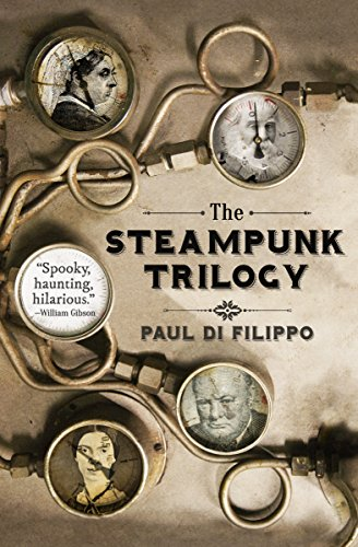 The Steampunk Trilogy cover