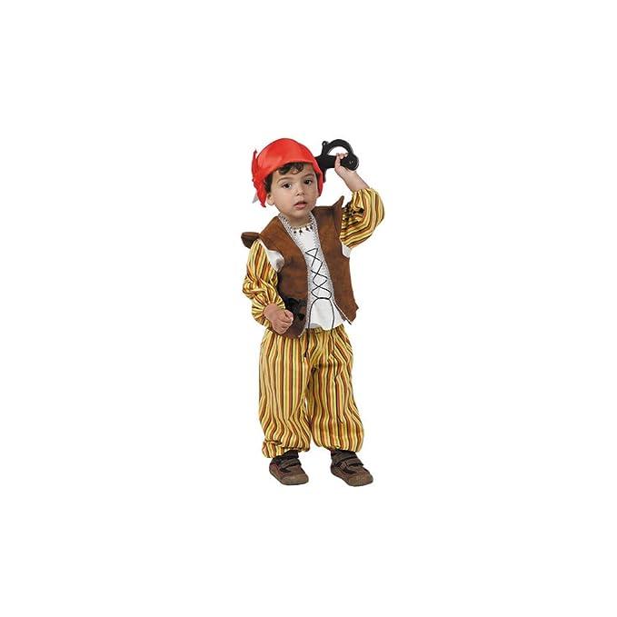 Disfraces FCR - Disfraz pirata bebé talla 12 meses: Amazon.es ...
