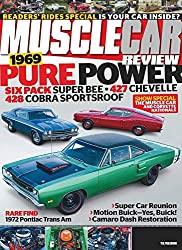 Muscle Car Review Magazine is unique among other muscle car magazines on the market with its focus on restored and well-maintained original muscle cars. Jam-packed with restoration and performance how-tos, comparisons of today's modern muscle against...