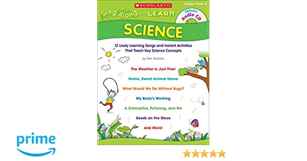 Amazon.com: Sing-Along and Learn: Science: 12 Lively Learning ...