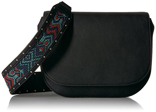 The Fix Colby Convertible Guitar Strap Saddle Bag, Geo Print Multi