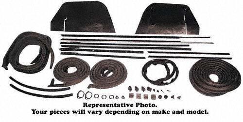 1963 Impala 2-Dr Hardtop Complete Weatherstrip (1963 Chevrolet Impala Hardtop)