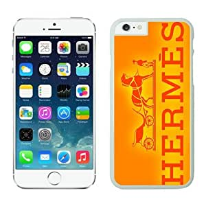 Hermes iPhone 6 Plus Case 25 White 5.5 inches for iPhone 6 Plus