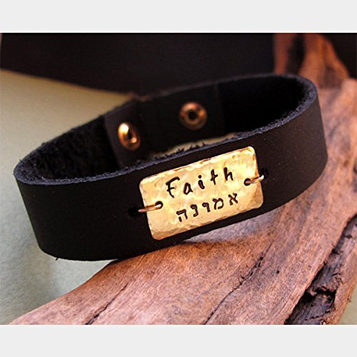 amazon com id mens bracelet personalized engraved leather