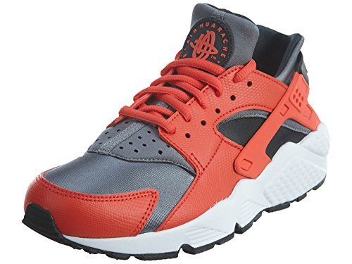 Nike WMNS AIR HUARACHE RUN womens running-shoes 634835-802_8.5 – MAX ORANGE/COOL GREY-ANTHRACITE-BLACK