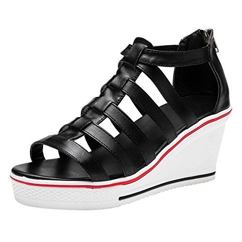 Collo Black Bianco 39 Alto A Donna Kivors 2 znw85qSxH