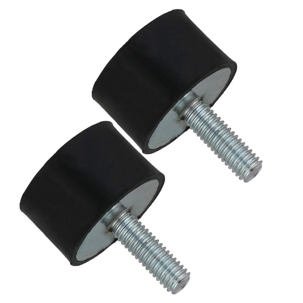 2pcs M6 VE Rubber Absorber Anti Vibration Silent Block 25/×15mm for Auto Industry