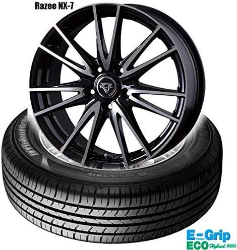 グッドイヤーE-Grip ECO EG01〈205/60R16 92H〉& Razee NX-7〈16×6.5 +38 114.3 5H〉|4本セット
