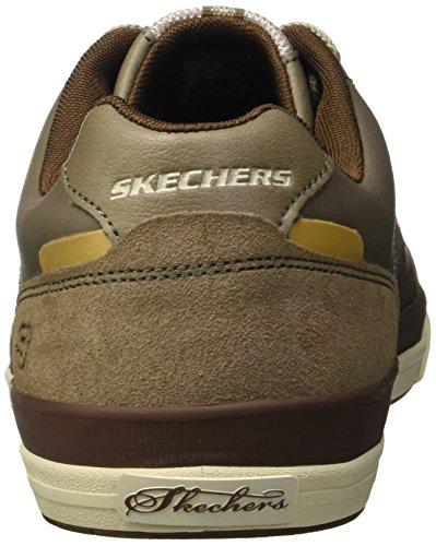 Skechers Diamondback-Rendol - Zapatillas, Hombre Marrón/Beige