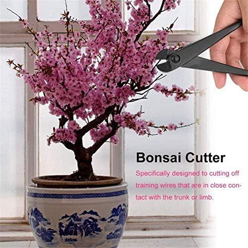 WYZXR garden tool Wire cutter, pruners and secateurs Less Effort Sharp Easy Cut Lightweight Quick Long Lasting Gardening Bonsai Steel Blade Sharp tool black