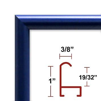 Amazoncom 26 X 36 Poster Frame Profile 15 Blue Custom Size