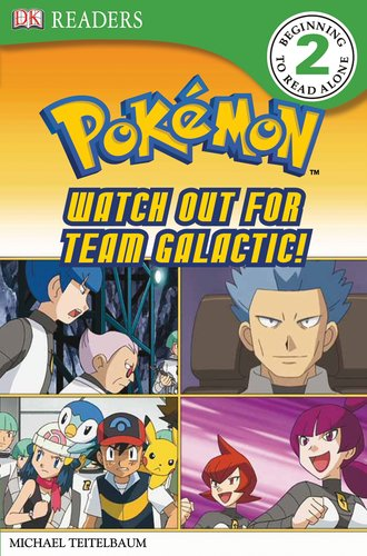 DK Reader Level 2 Pokemon: Watch Out for Team Galactic! (DK Readers) ebook