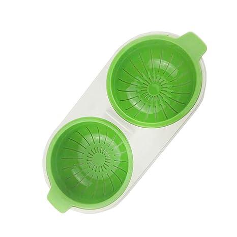 Huevera de silicona para cocinar huevos en microondas ...