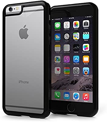 Comprar funda Bumper Negro Transparente iPhone 7 Plus