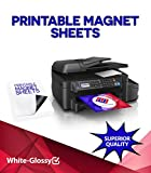 Glossy Inkjet Magnetic Photo Paper 8.5x11 (20 Sheets)