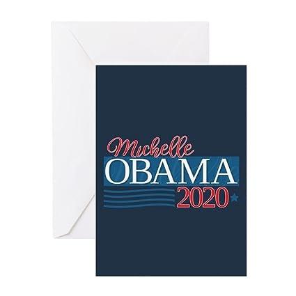 Amazon Cafepress Michelle Obama 2020 Greeting Card Note