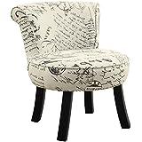 Monarch Juvenile Chair, Off-White/Black