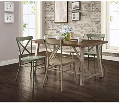 Amazon Com Better Homes And Gardens Collins Dining Table 4 Seater Tables