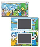Adventure Time Jake Finn Princess Bubblegum Marceline Video Game Vinyl Decal Skin Sticker Cover for Nintendo DS Lite System