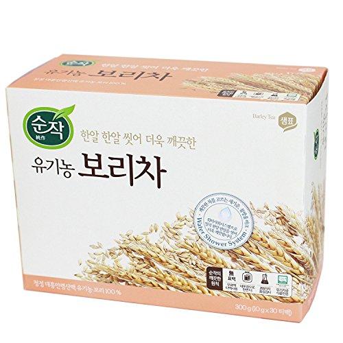 Sempio YuKiNong Barley Tea 30 Tea Bags (Net WT: 300g/10.58oz)