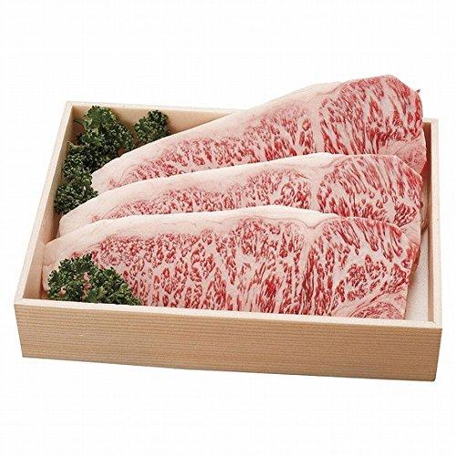 北海道 びらとり和牛サーロインステーキ3枚