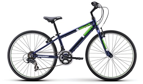 Diamondback Bicycles Insight 24 Kid's Hybrid Bike, 24' Wheels, Blue