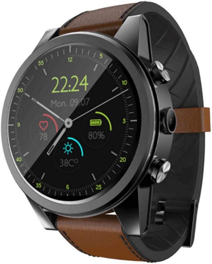 HFJ&YIE&H Reloj Inteligente Android 7.1 3 GB 32 GB con IP67 a Prueba de Agua. GPS Cámara de 2MP Pantalla AMOLED de 1,6 Pulgadas Smartwatch 4G Hombres