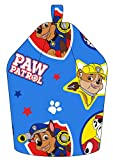 Paw Patrol Forever Chase/Marshall and Rubble Machine Washable Bean Bag, Fabric, Blue, 52 x 38 x 52 cm