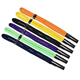 Floating Foam Glasses Straps 6 Pack - Multi-Color Adjustable Sport Sunglasses Head Band Retainer Holder Strap Eyewear Retainer for Swimming Sports Outdoor Activities