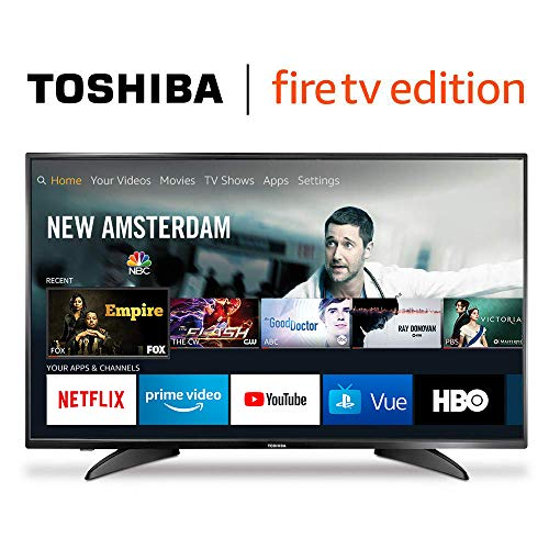 Toshiba 43LF421U19 43-inch 1080p Full HD Smart LED TV - Fire TV Edition (Tv Without Wifi)