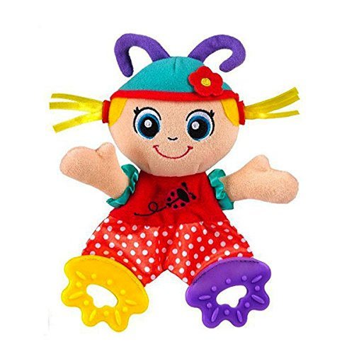 Baby Toddles Infant Soft Appease Playmate Calm Towel Doll Teether Developmental Rattle Plush - Stores R Us Toys Sydney
