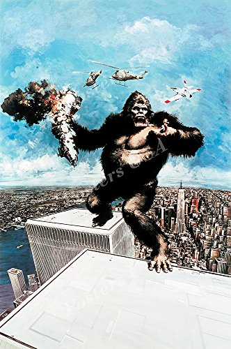 Posters USA - King Kong Textless Movie Poster GLOSSY FINISH