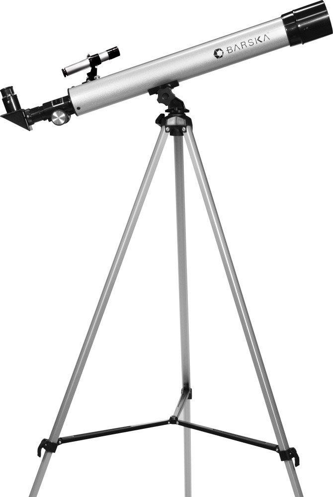 Barska AE10748 Starwatcher 60050 Refractor Telescope (Silver)