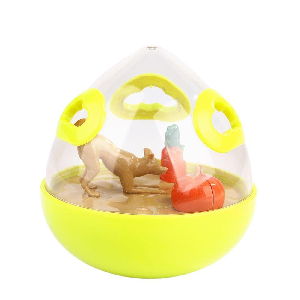 PanDaDa Pet Food Dispenser Toy Interesting Orchard Design Pet Dog Cat Tumbler Snacks Feeder