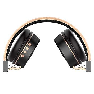 NHK-MX Auriculares Deportivos, Auriculares Impermeables portátiles estéreos inalámbricos de Bluetooth (Color :