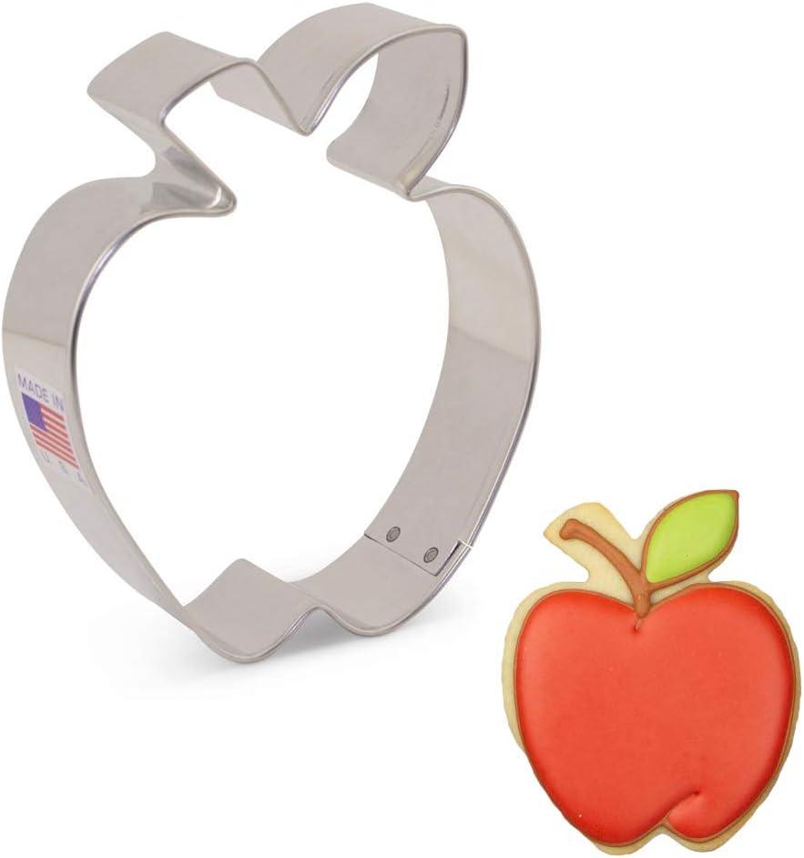 "Ann Clark Cookie Cutters Apple Cookie Cutter, 3.5"""