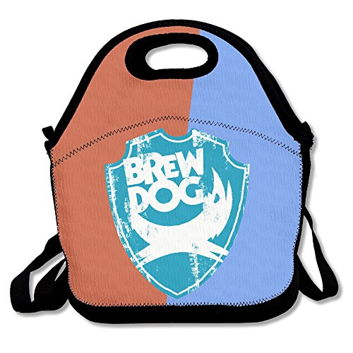 Brewdog Beer Insulated Lunch Bag  Backpack   Tote With Zipper  Carry Handle And Shoulder Strap For Adults Or Kids