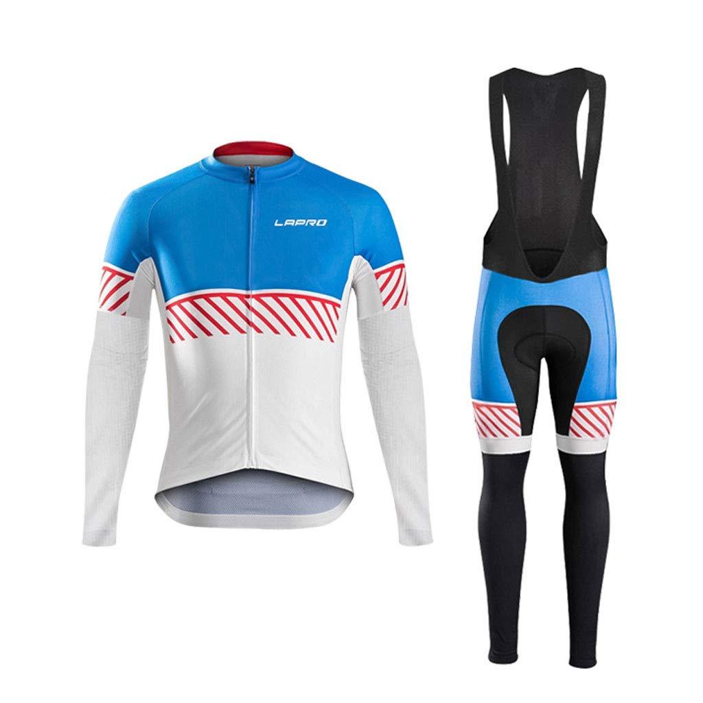Lilongjiao Männer Langarm-Jersey Sportswear Radfahren Sport Jersey Anzüge Outdoor Sports Mountain Bike Radfahren Sportswear