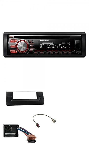 Pioneer CD MP3 USB Bluetooth AUX para radio de coche para BMW Serie 5 E39 (