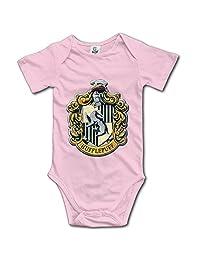 Harry Potter Hufflepuff Baby Unisex Short Sleeve Bodysuits