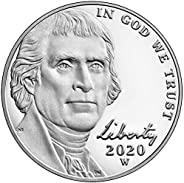 2020 W Special Edition West Point Jefferson Nickel Proof Nickel Mint Packaged